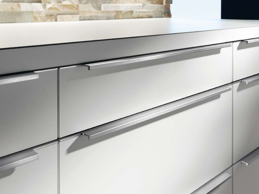Furniture profile handle howayek co for Kitchen cabinets handles