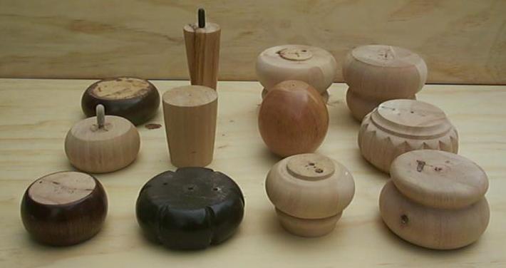 Wood legs