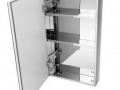Stainless-Steel-Mirror-Cabinet-with-Metal-Shelves-A3030-
